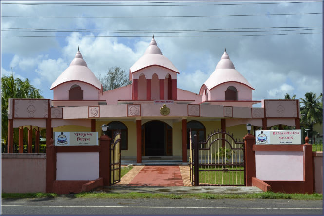 ramakrishna ashrama new temple